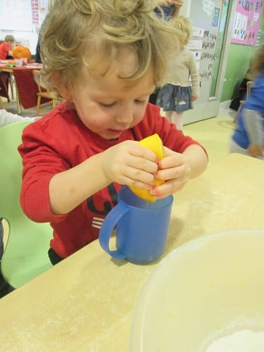 Cooking class at Crewe Nursery