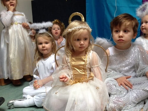 Nativity play at Footsteps Nursery