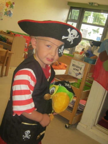 North Cheam Talk Like A Pirate Day