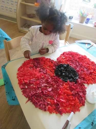 Remembrance Day at Timperley Day Nursery and Preschool