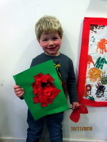 Remembrance Day at Turkey Mill Maidstone Nursery